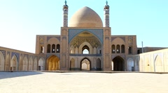 In iran  kashan  islamic mausoleum Stock Footage