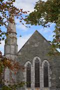 church in killarney county kerry - stock photo