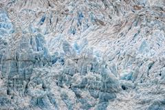 The Hubbard Glacier while melting, Alaska Stock Photos