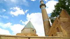 In iran  kashan  islamic mausoleum Stock Footage