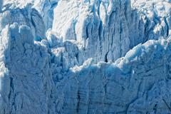 Harriman glacier in Alaska Prince William Saound - stock photo