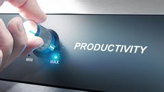Productivity Management and Improvement Stock Photos