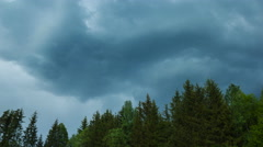 4k Timelapse of storm coming. Stock Footage