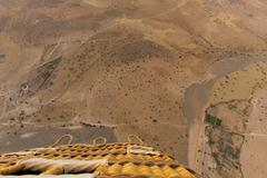 Desert near Marrakech aerial view from balloon Kuvituskuvat