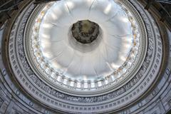 Washington DC internal capitol dome view Stock Photos