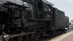 Steam Locomotive Pan 1 Stock Footage