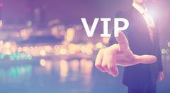 VIP concept with businessman Stock Photos