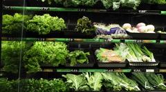 Indoor Shots of Local Health Food Store - stock footage