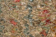 Colors of murano glass background liquid texture Stock Photos