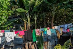 Hovel, shanty, shack in Cebu Philippines Stock Photos
