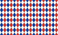 Abstract geometric seamless pattern of rhombus - stock illustration