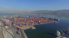 Transportation Dock Izmir Stock Footage
