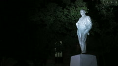 Lipetsk, Russian Federation - Monument to Vladimir Lenin  - stock footage