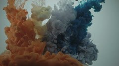 Ink in water Stock Footage