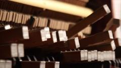 Cruel Destruction Piano Stock Footage