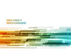Abstract shiny lines background. - stock illustration