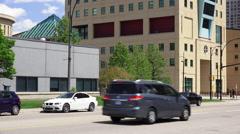 Tilt-up City Hall Mississauga - stock footage