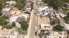 Living Conditions and Damage in Bahia de Caraquez  Stock Footage