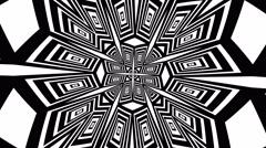 Gobo Mask kaleidoscope - stock footage