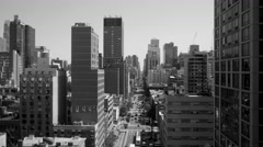 New york city real estate apartment view Stock Footage