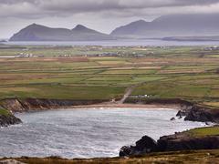 The Irish West coast on a windy day Stock Photos