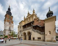 Krakow, Poland- May 25, 2016: Church of Our Lady Assumed into Heaven - stock photo
