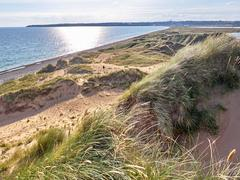 Dune in Tramore, Ireland Stock Photos