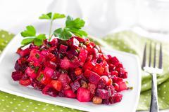 Beetroot salad Stock Photos