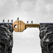 Success Key Concept Stock Illustration