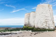 Popular Botany Bay La Manche English channel coast, Kent, England, United Kin - stock photo
