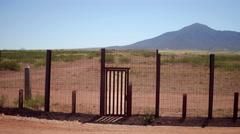 Door to Mexico Stock Footage