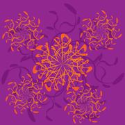 Abstract ornament - stock illustration