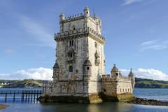 Tower of Belem Lisbon, Portugal - stock photo
