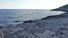 Sea waves and rocks Stock Footage