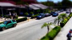 Costa Rica Time-laspe tiltshift Stock Footage