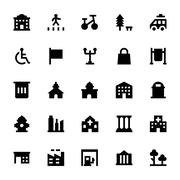 City Design Elements Stock Illustration