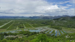Neretva valley - spring 2016 Stock Footage