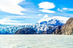 View of Gray Glacier Stock Photos