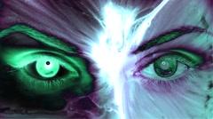 Eyes Background Vj Loops - stock footage
