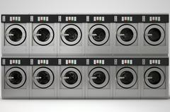 Industrial Washing Machine Piirros