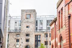 View of the Old Jameson Distillery, Dublin, Ireland - stock photo