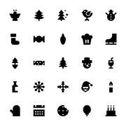 Holiday Icons - stock illustration