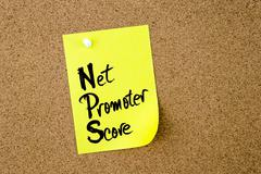 Business Acronym NPS Net Promoter Score Stock Photos