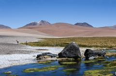 Road through the Andes near Paso Jama, Chile-Argentina-Bolivia. Kuvituskuvat