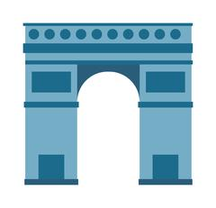 Triumphal arch vector illustration Stock Illustration