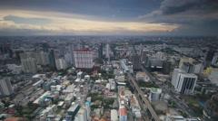 Cityscape timelapse. Bangkok Thailand. 4K 3840x2160. Stock Footage