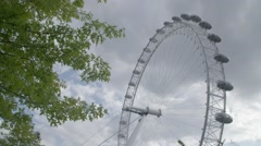 The Coca Cola London Eye at Day | HD 1080 Stock Footage