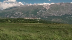 Wheat fields in Abruzzo, Italy chieti Stock Footage