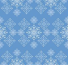 Snowflakes ornament Stock Illustration