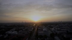 Bangkok ,Capital city of Thailand time-lapse sunset time Stock Footage